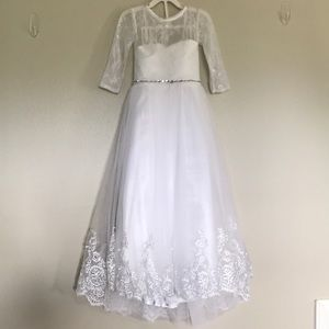 Other - Girls Formal Dress Flower Girl, Pageant, Communion
